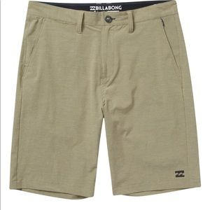 NWT Billabong Khaki Shorts